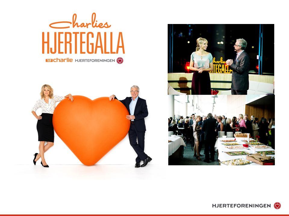 Hjerteforeningen har tre gange afholdte Charlies Hjertegalla, senest i efteråret 2013