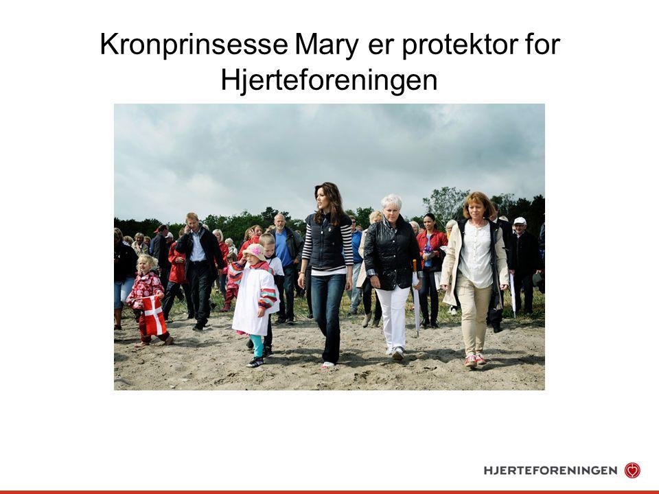 Kronprinsesse Mary er protektor for Hjerteforeningen