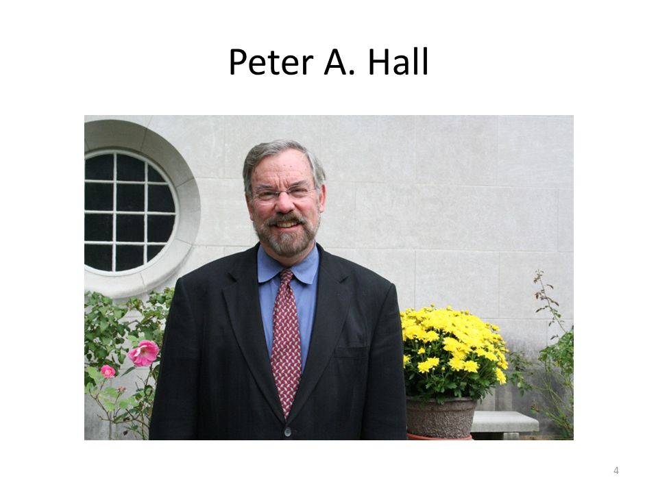 Peter A. Hall