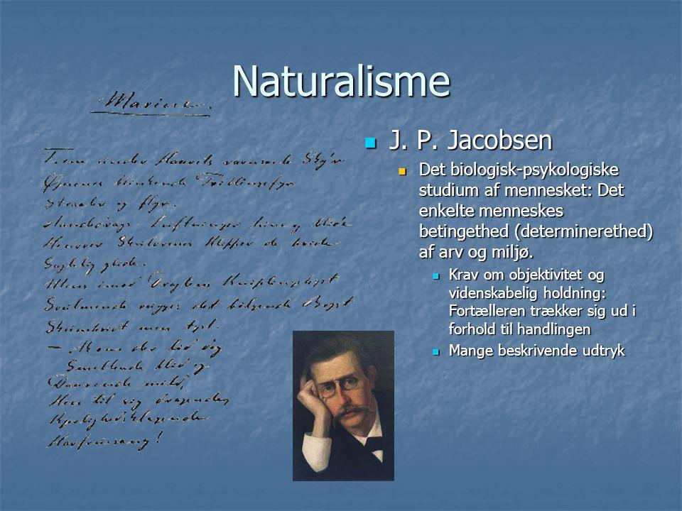 Naturalisme J. P. Jacobsen