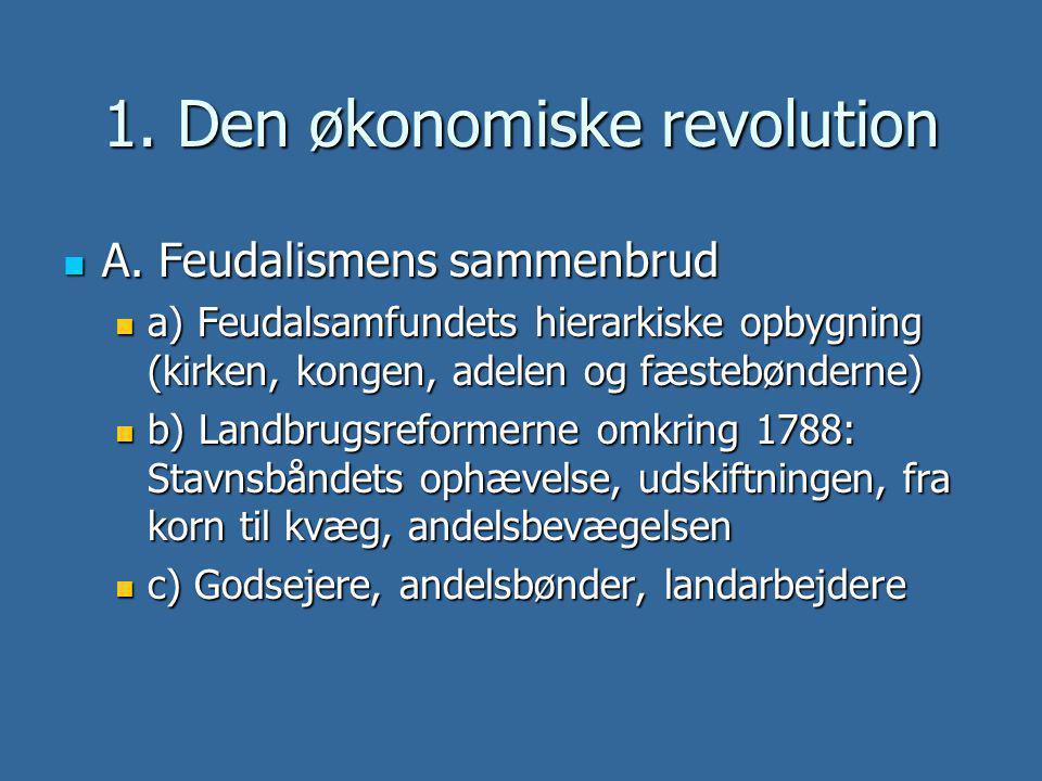 1. Den økonomiske revolution
