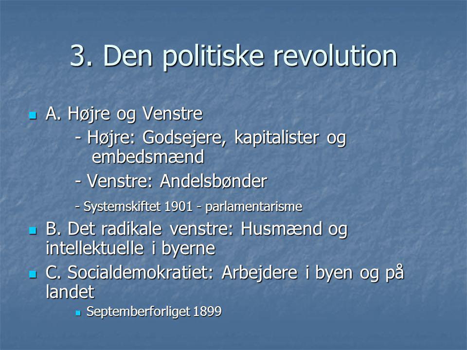 3. Den politiske revolution