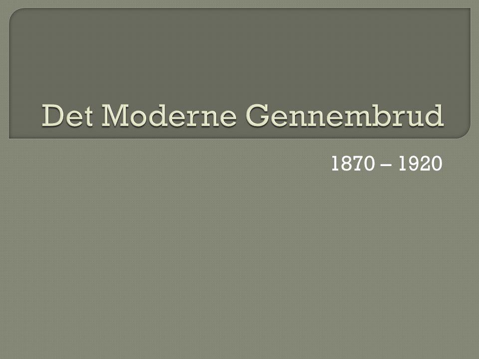 Det Moderne Gennembrud