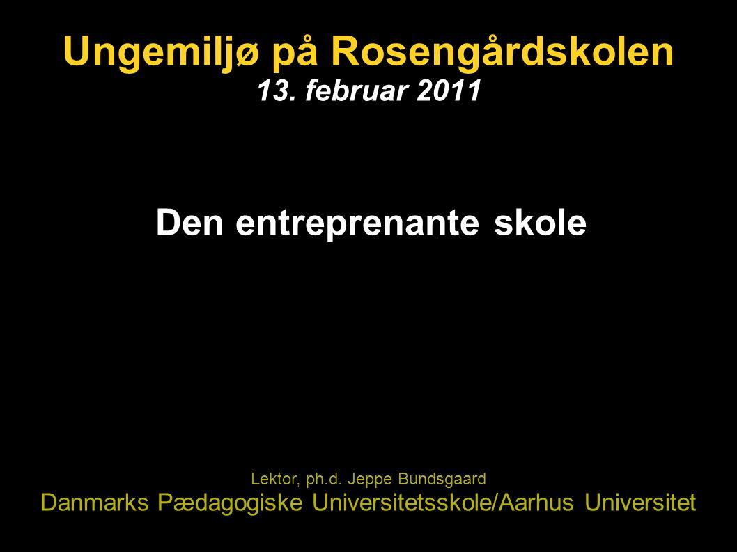 Ungemiljø på Rosengårdskolen 13. februar 2011