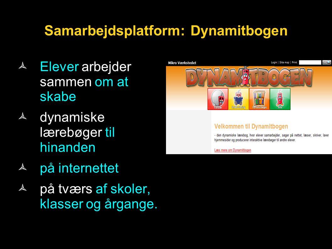Samarbejdsplatform: Dynamitbogen