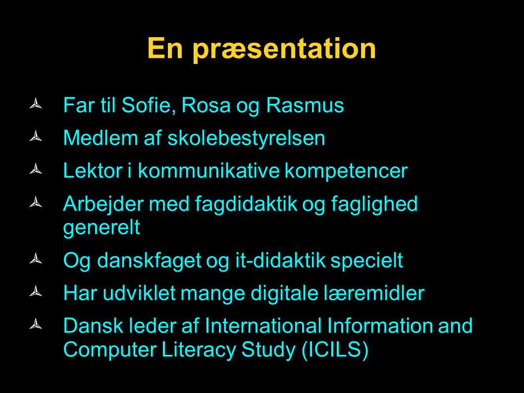 En præsentation Far til Sofie, Rosa og Rasmus