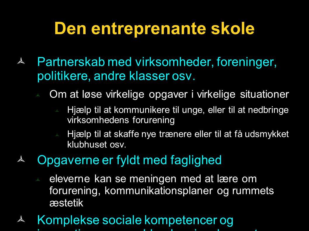 Den entreprenante skole