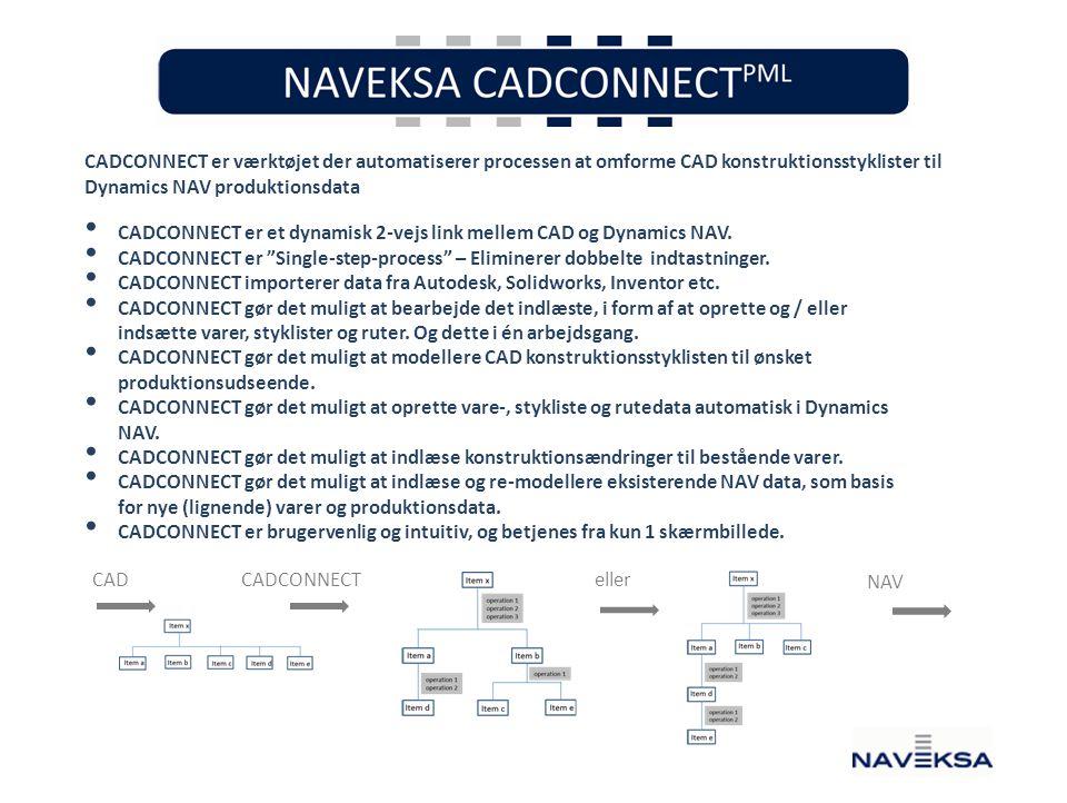 Dynamics NAV produktionsdata