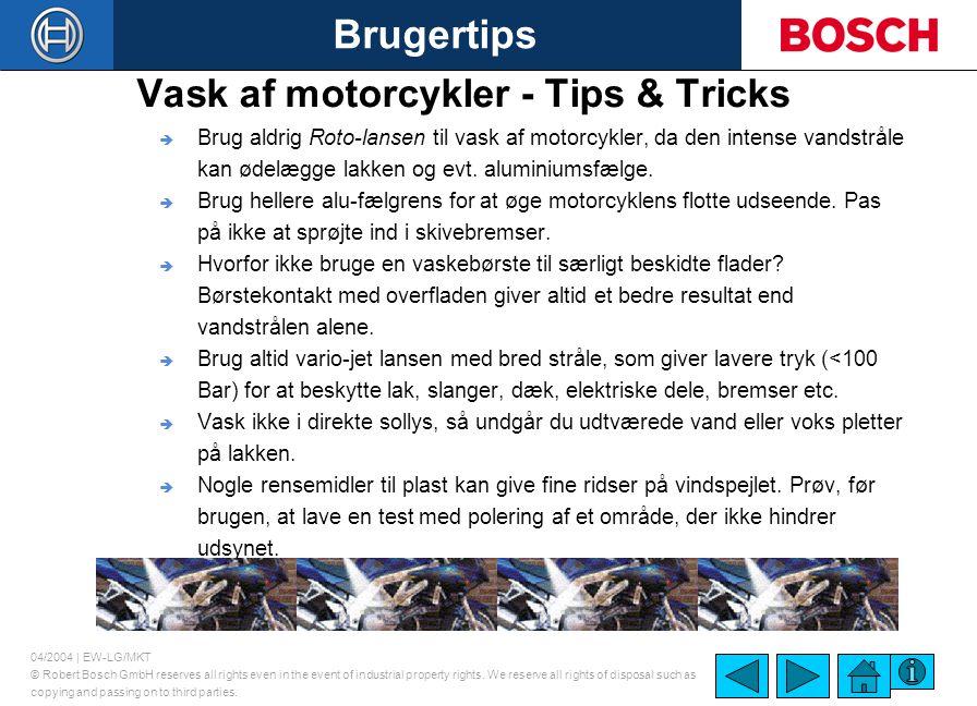 Vask af motorcykler - Tips & Tricks