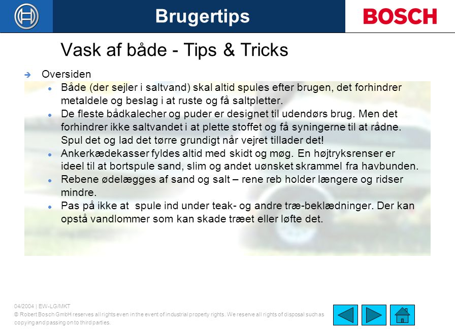 Vask af både - Tips & Tricks