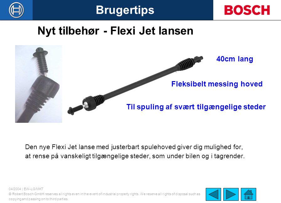 Nyt tilbehør - Flexi Jet lansen