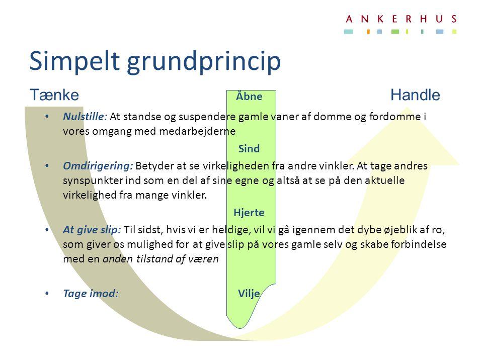 Simpelt grundprincip Tænke Åbne Handle