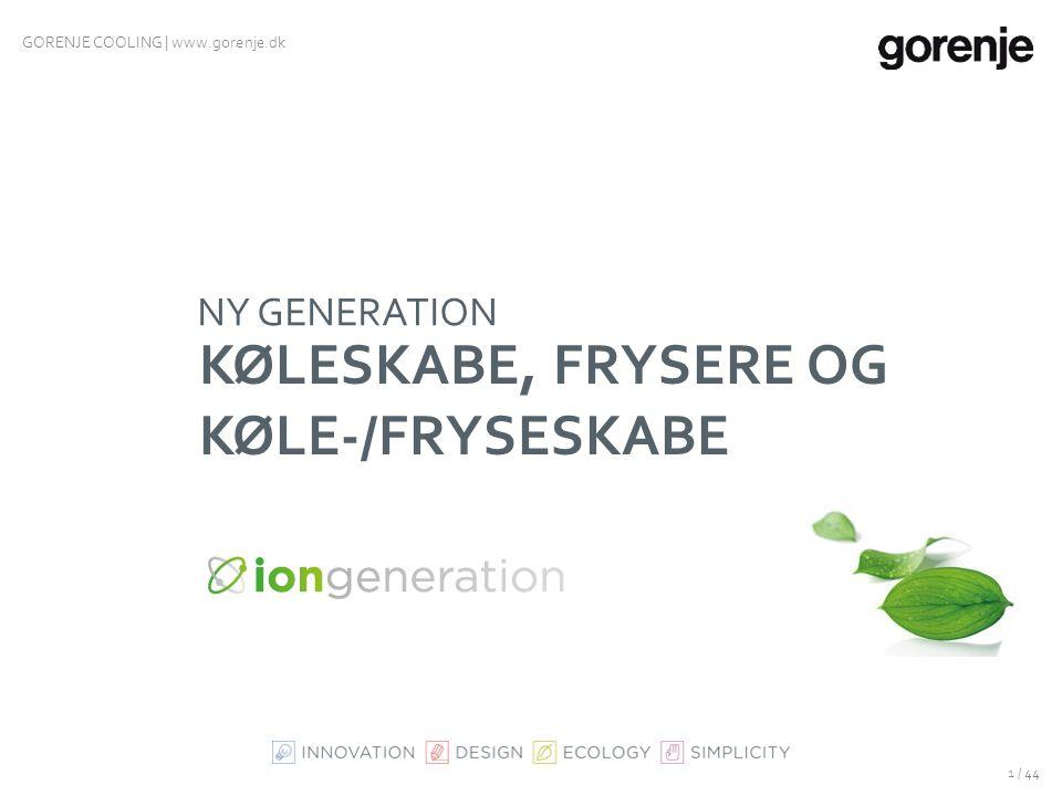 KØLESKABE, FRYSERE og KØLE-/FRYSESKABE
