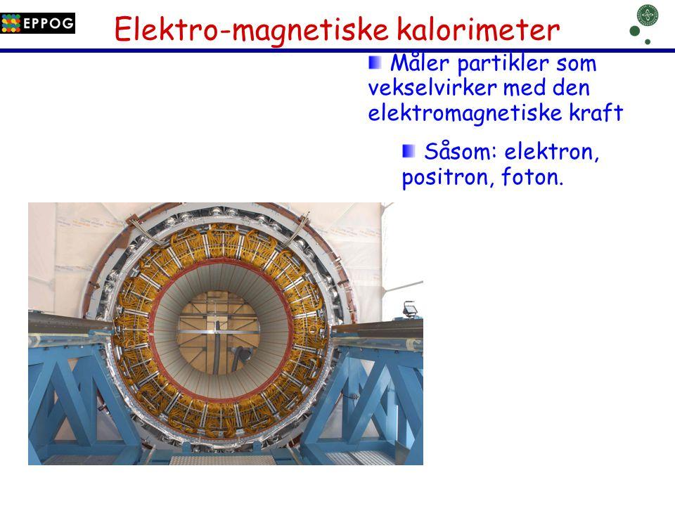 Elektro-magnetiske kalorimeter