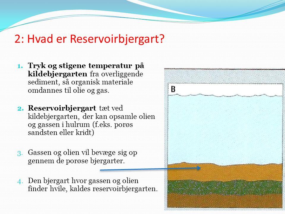2: Hvad er Reservoirbjergart