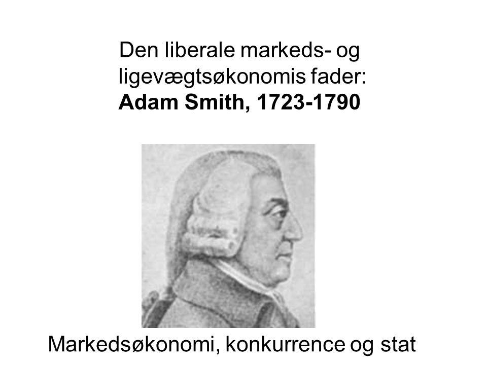 Markedsøkonomi, konkurrence og stat