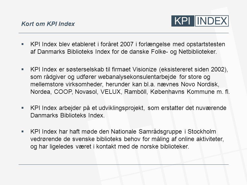 Kort om KPI Index