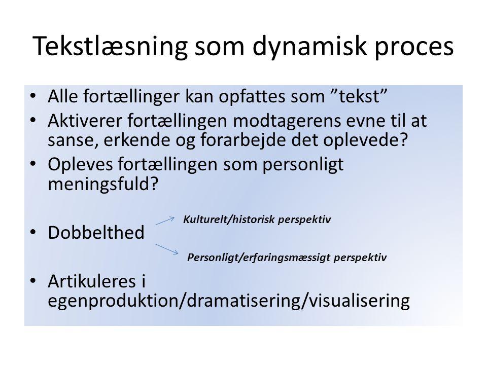 Tekstlæsning som dynamisk proces