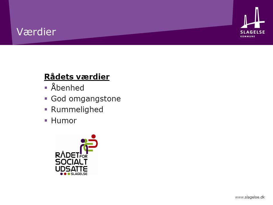 Værdier Rådets værdier Åbenhed God omgangstone Rummelighed Humor