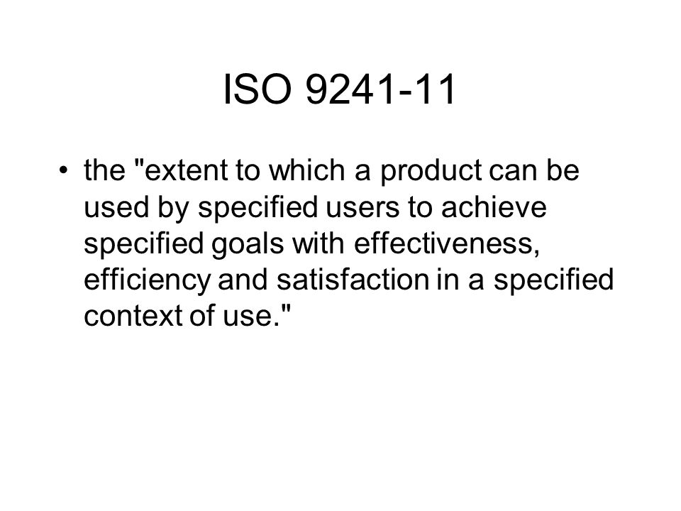 ISO 9241-11