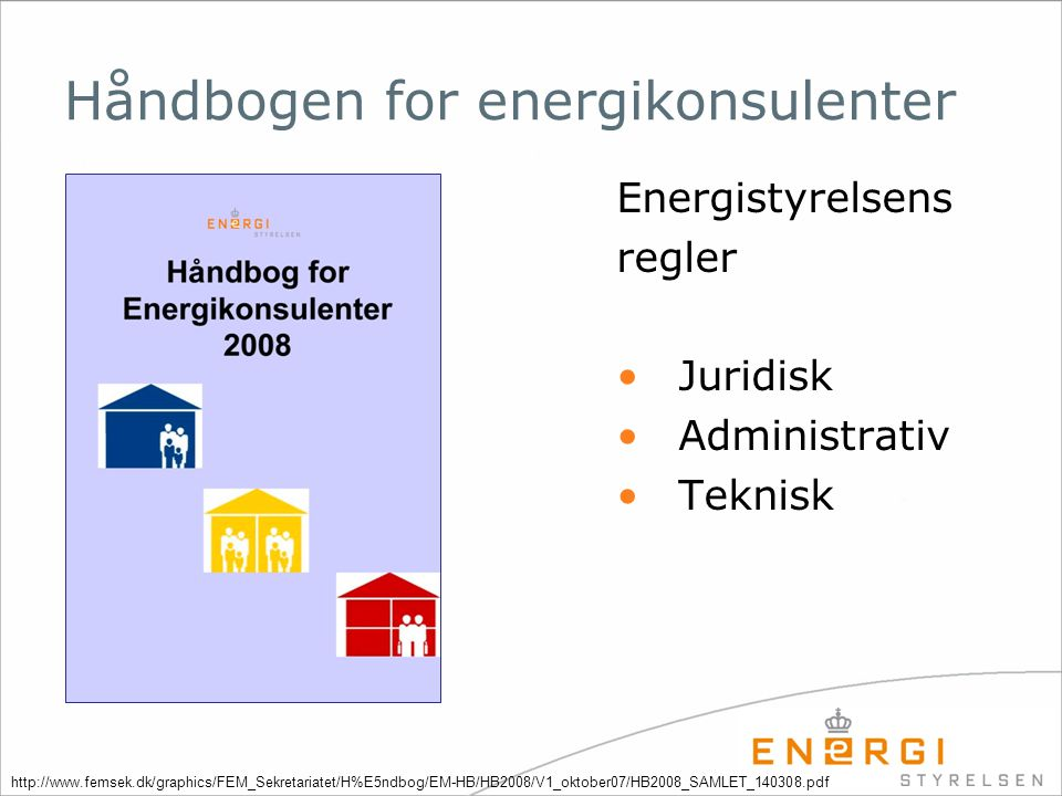 Håndbogen for energikonsulenter