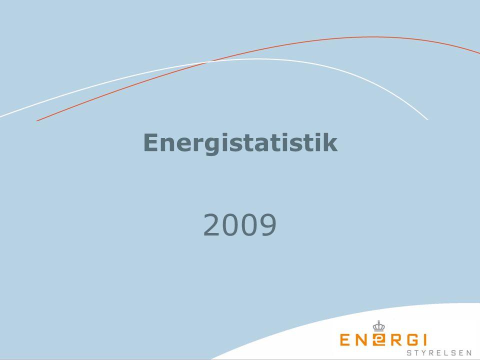 Energistatistik 2009
