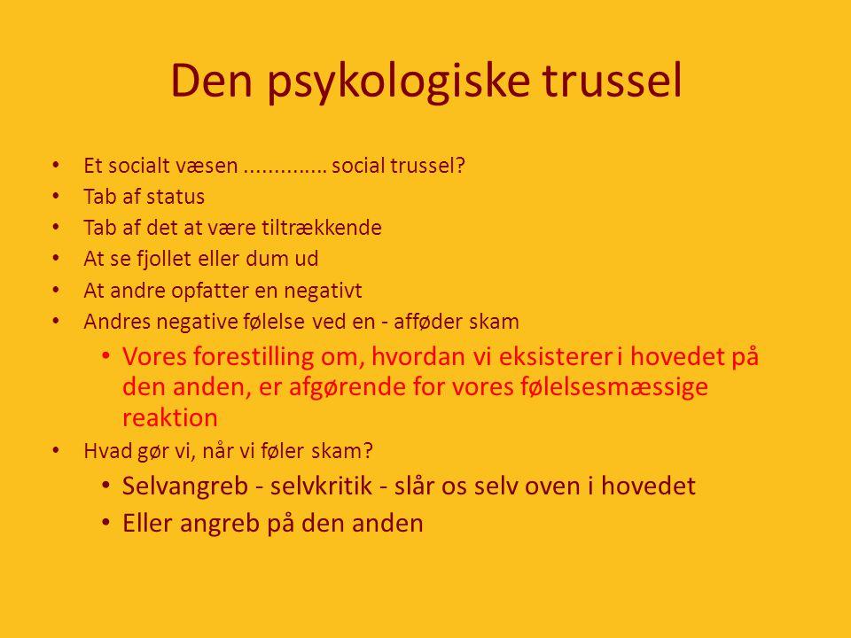Den psykologiske trussel