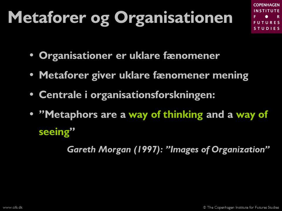 Metaforer og Organisationen