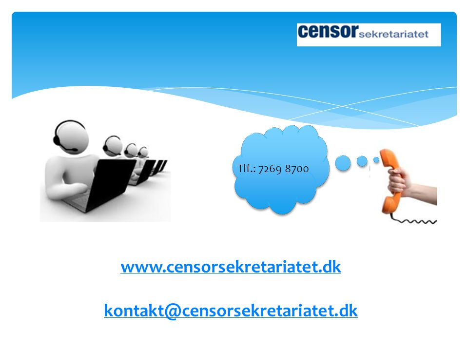 www.censorsekretariatet.dk kontakt@censorsekretariatet.dk