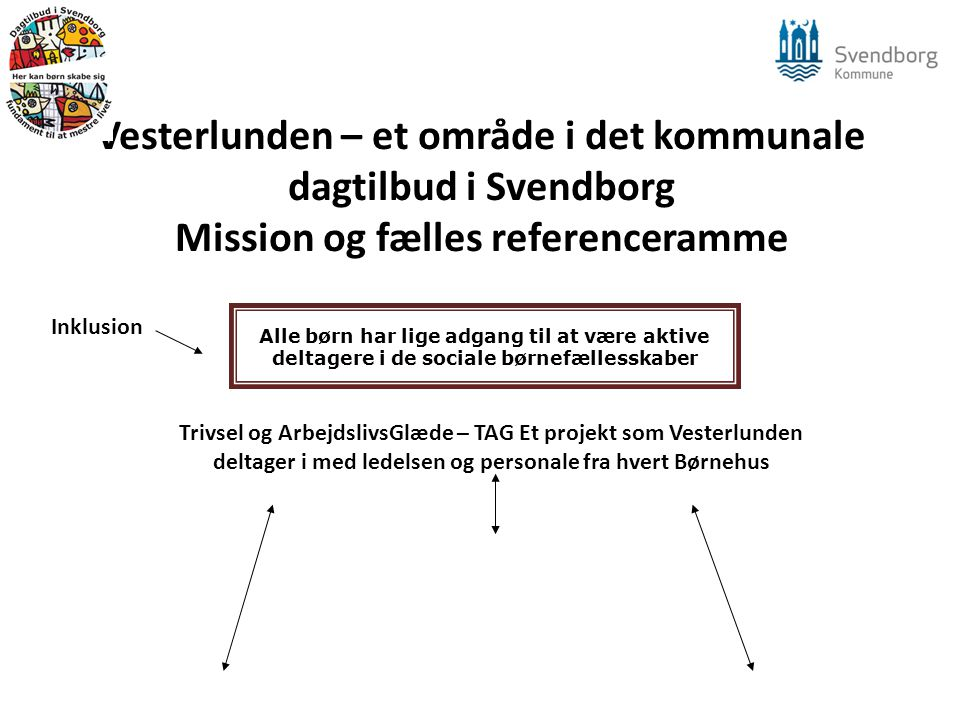 Vesterlunden – et område i det kommunale dagtilbud i Svendborg Mission og fælles referenceramme