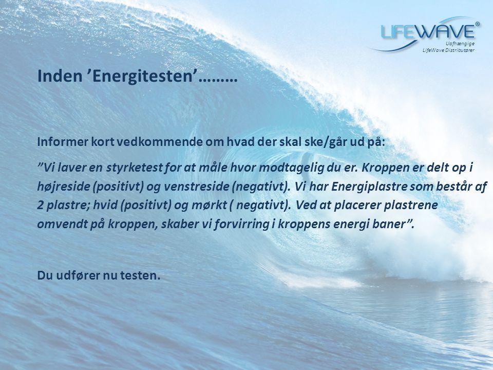 Inden 'Energitesten'………