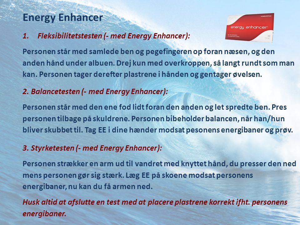 Energy Enhancer Fleksibilitetstesten (- med Energy Enhancer):