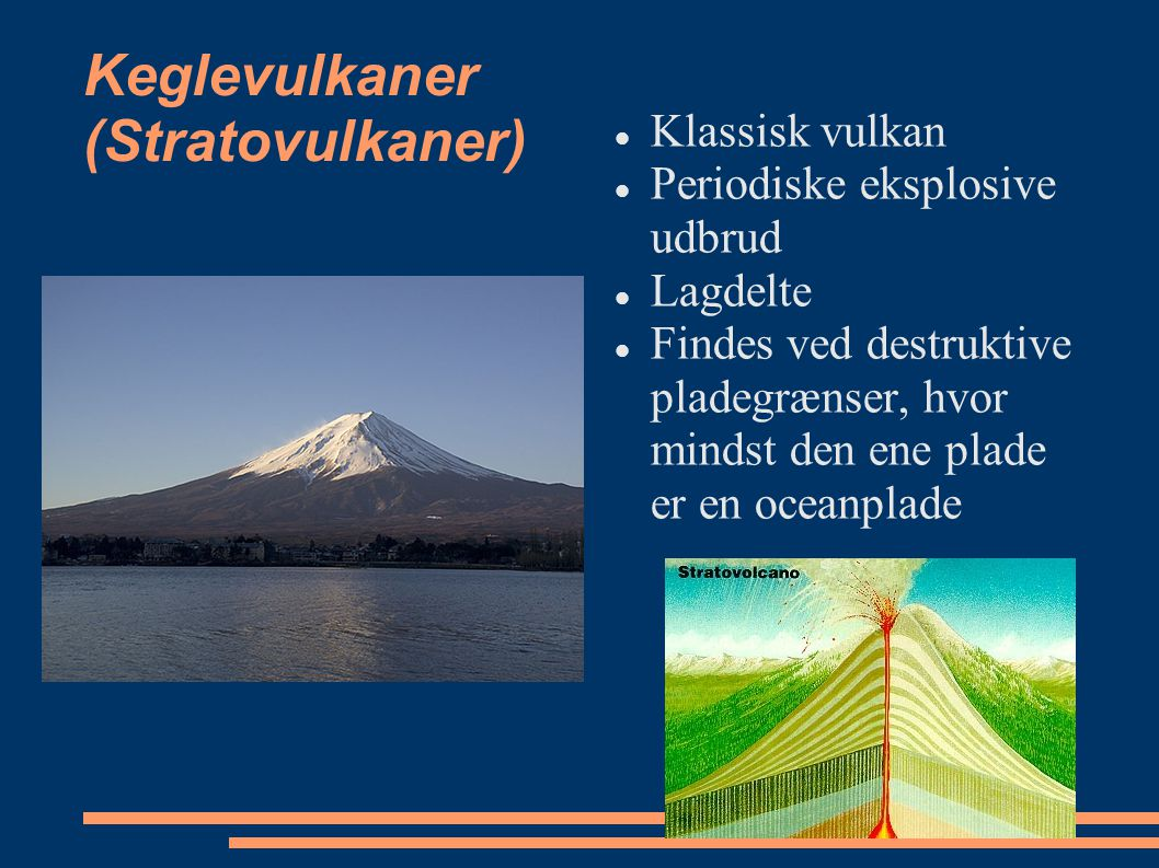 Keglevulkaner (Stratovulkaner)