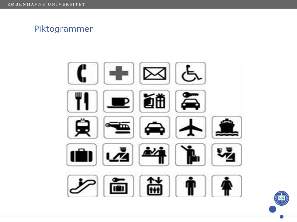 Piktogrammer