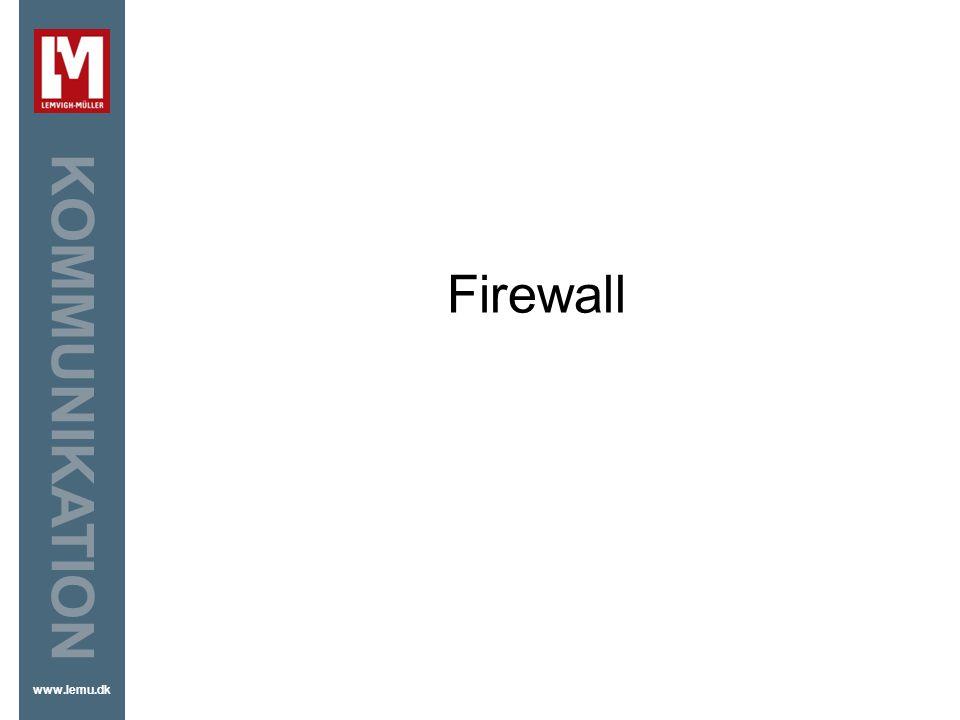Firewall Firewall