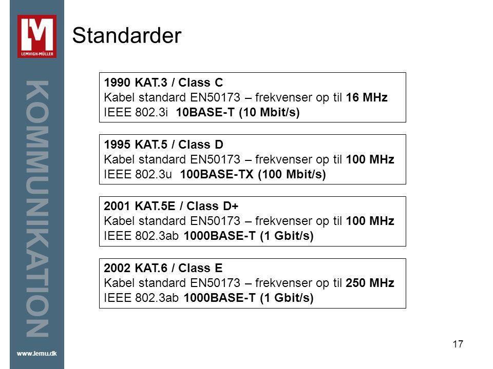 Standarder 1990 KAT.3 / Class C