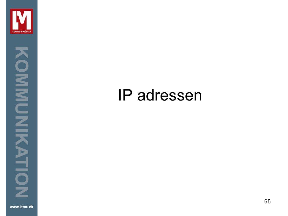 IP adressen