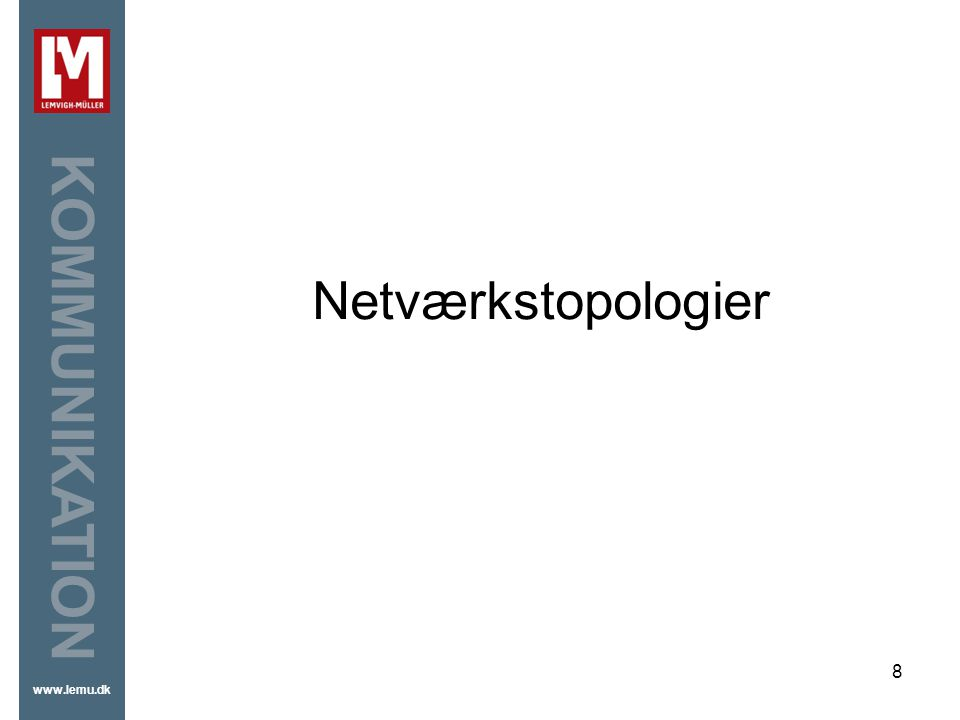 Netværkstopologier