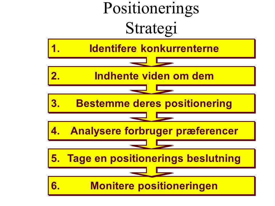 Positionerings Strategi