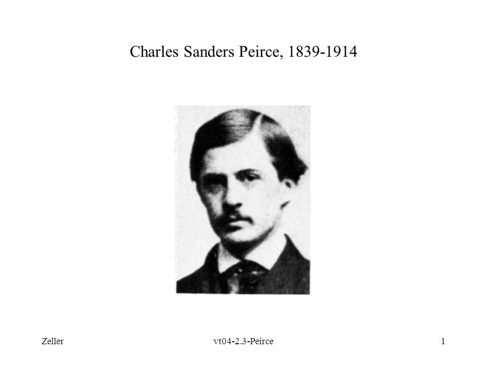 Charles Sanders Peirce, 1839-1914