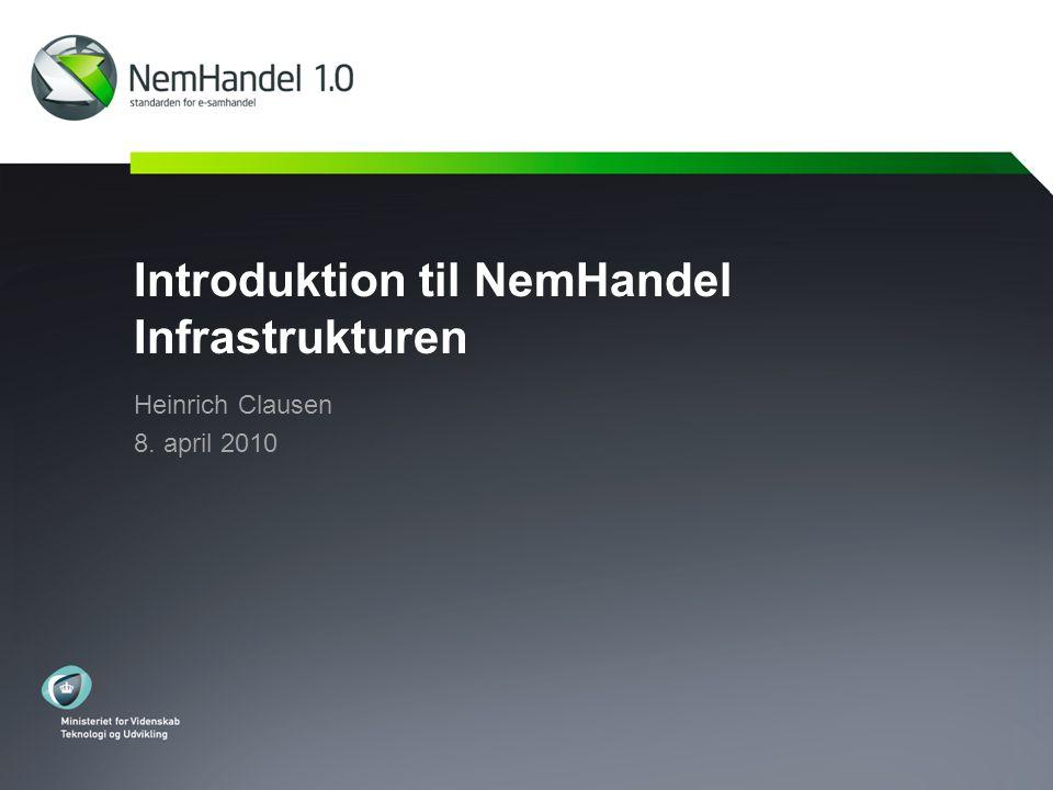 Introduktion til NemHandel Infrastrukturen