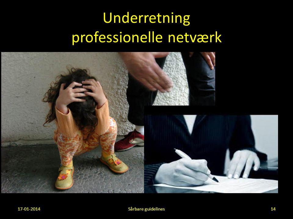 Underretning professionelle netværk