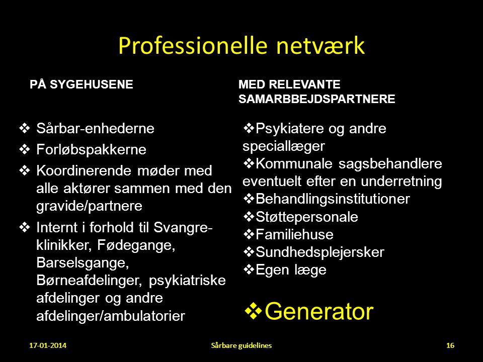 Professionelle netværk