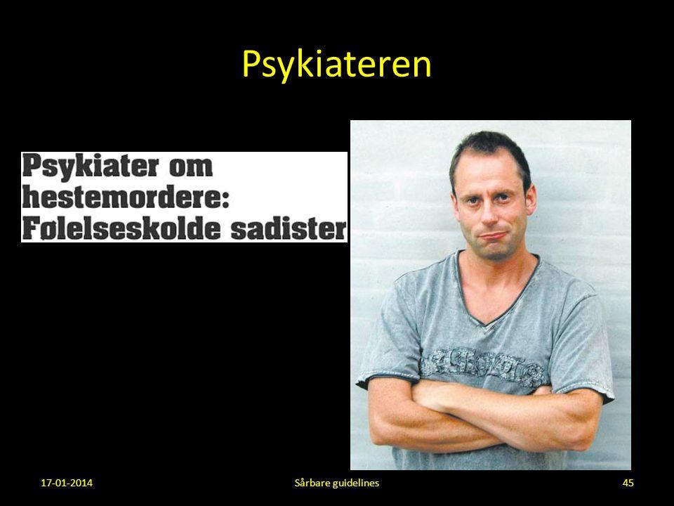 Psykiateren 17-01-2014 Sårbare guidelines