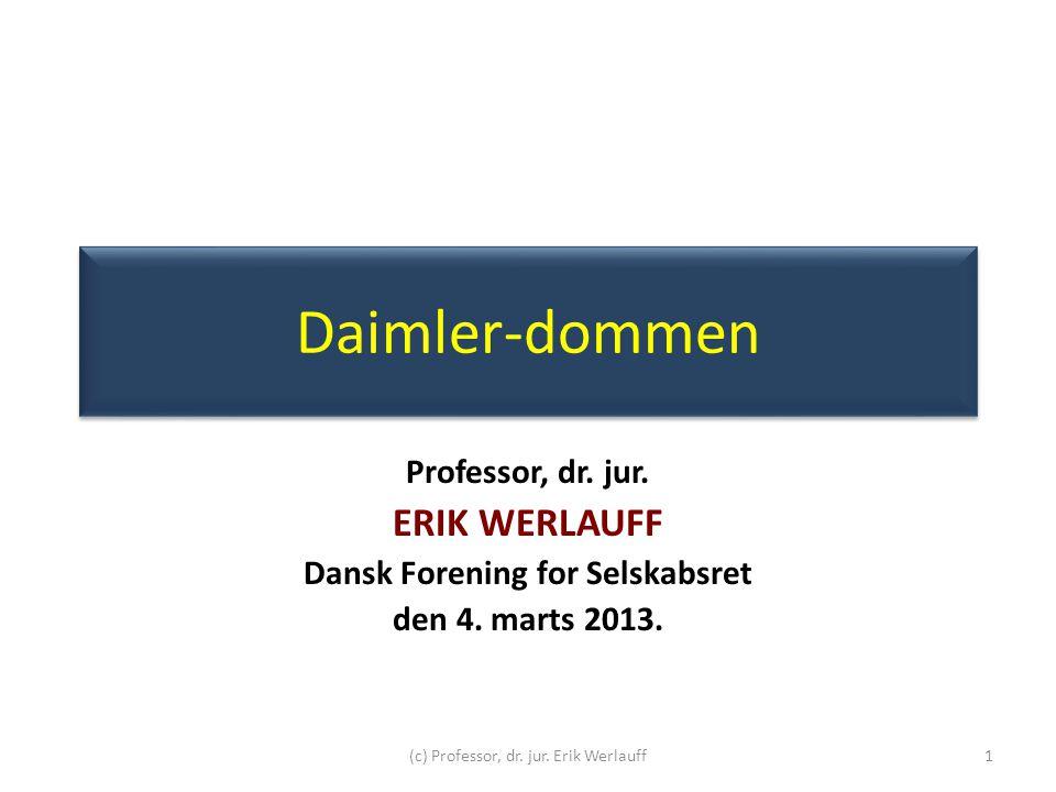Dansk Forening for Selskabsret