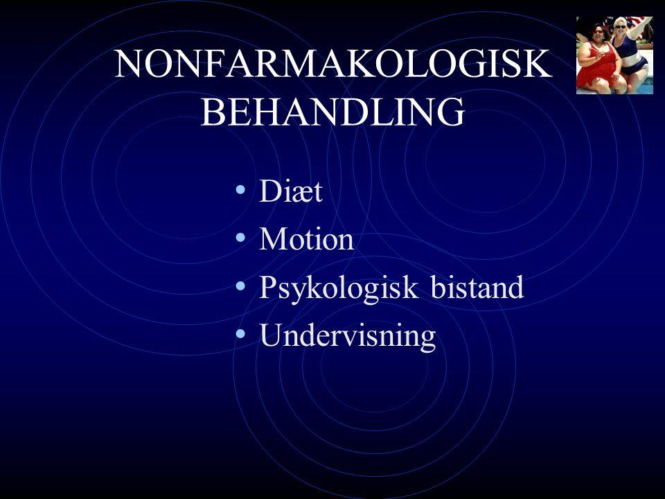 NONFARMAKOLOGISK BEHANDLING