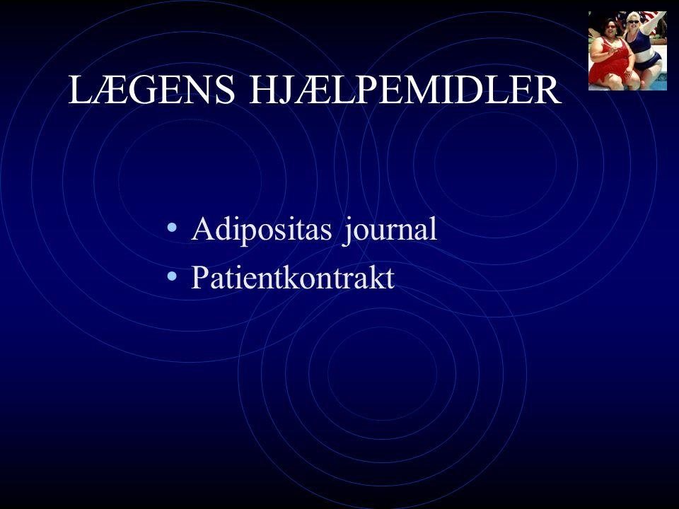 LÆGENS HJÆLPEMIDLER Adipositas journal Patientkontrakt