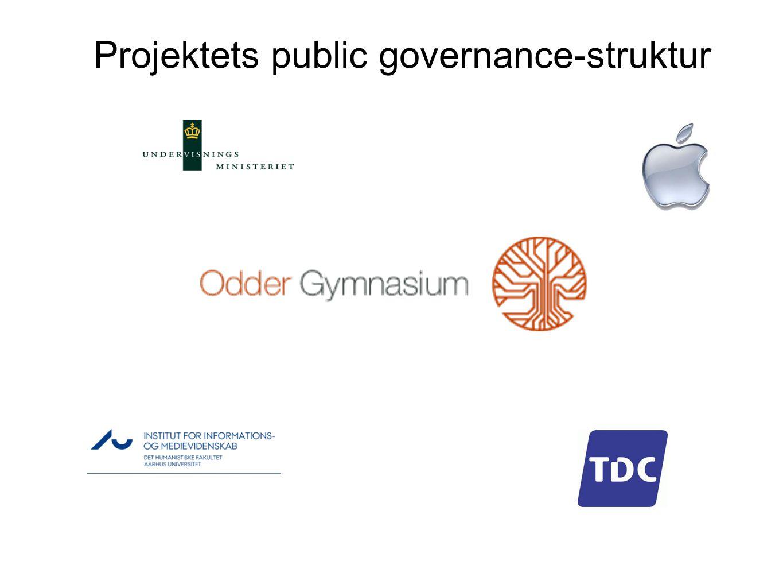Projektets public governance-struktur
