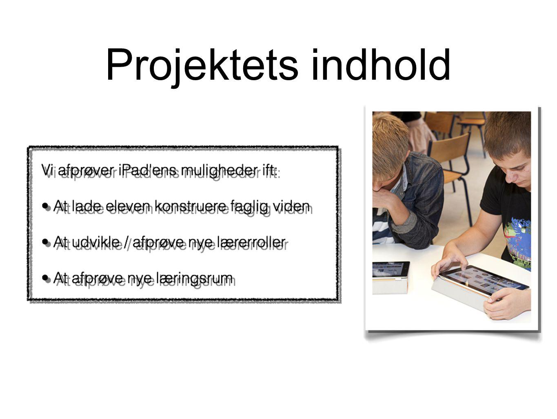 Projektets indhold