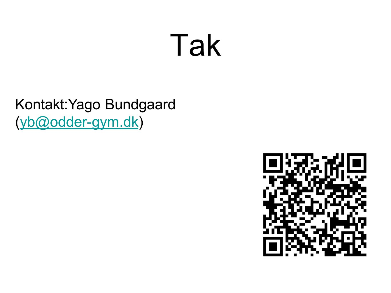 Tak Kontakt:Yago Bundgaard (yb@odder-gym.dk)